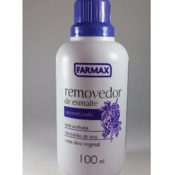Removedor aromatizado sem acetona FARMAX 100ml