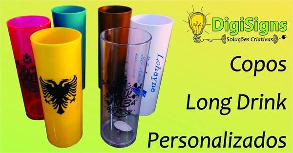 Copo Long Drink Personalizado - Mínimo 20 unidades