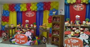Decoração de Festas | Pacote Intermediário I