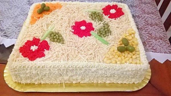 Torta Salgada com Maionese kg
