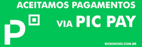 ACEITAMOS PAGAMENTO MEDIANTE A PIC PAY