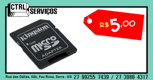 ADAPTADOR DE CARTÃO MICRO SD #2