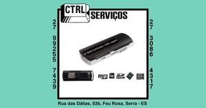 ADAPTADOR DE CARTÕES 43 EM 1 USB 2.0 XCELL XC681