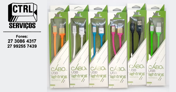 CABO USB V8 2.4A 1 METRO WL-1517