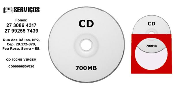 CD 700MB