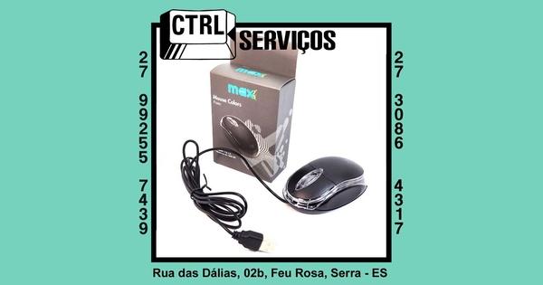 MOUSE USB 1000DPI MAXPRINT 601387-2