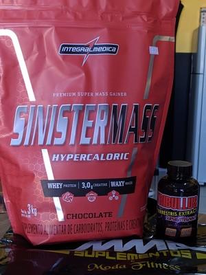 Hipercalórico 3kg SinisterMass + Tribulus Terrestris