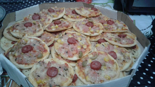 Mini pizza 100 und