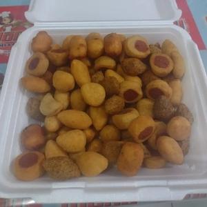Cento de Salgados Fritos para Festa