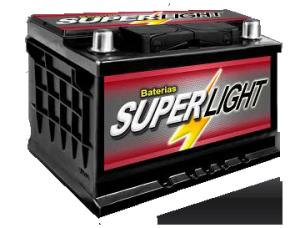 Bateria Super Light 60 Amperes