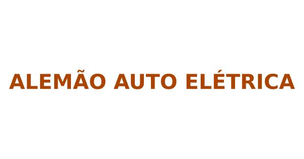 Alemão Auto Elétrica
