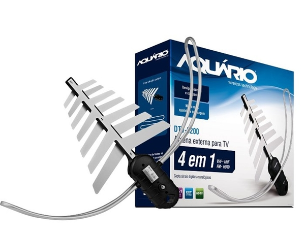 Antena Digital Aquário Wireless DTV-3000