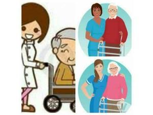 Cuidadora de Idosos e Acompanhante de Pacientes