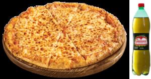 Pizza Portuguesa G + Refrigerante 1,5 L