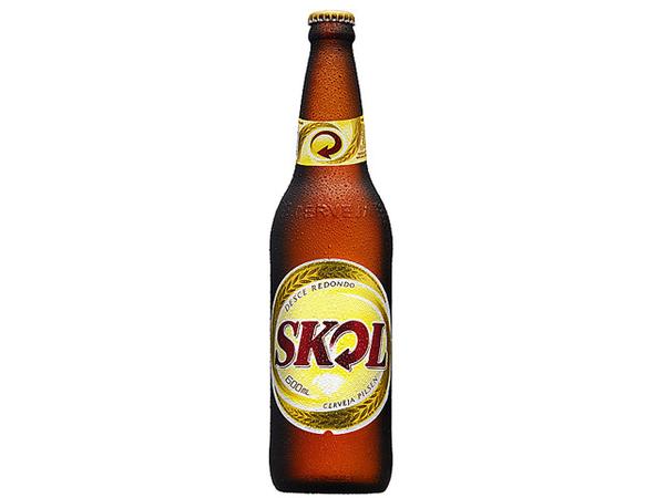 Cerveja Skol 600 ml