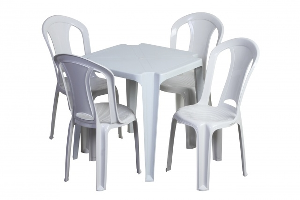 Aluguel de 10 Jogos de Mesas e Cadeira