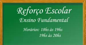 Reforço Escolar para Ensino Fundamental