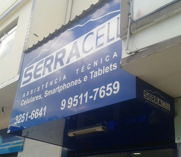 Placa para Fachada Comercial m2